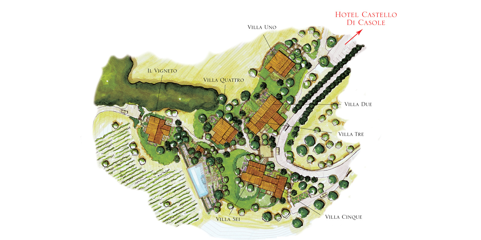Sant Antonio Estate Map