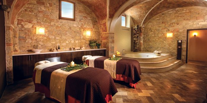 Essere Spa's Massage Tables
