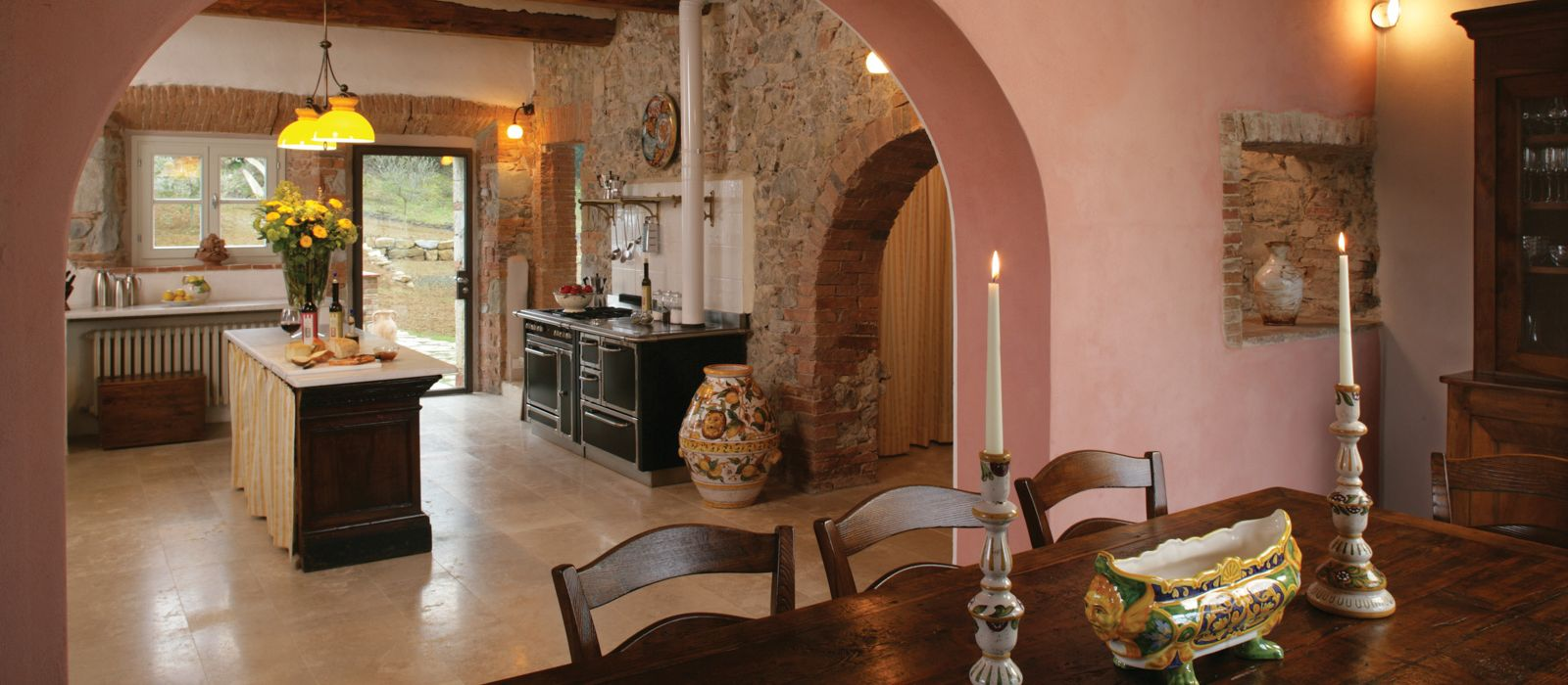 Casale Vemignano Kitchen