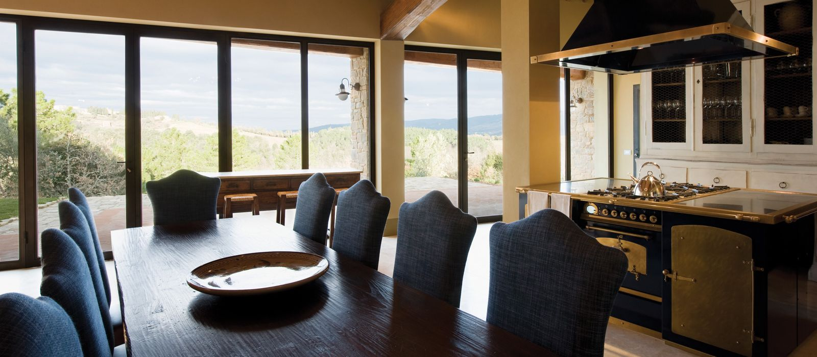 Poggio alla Corona Dining Room and Kitchen