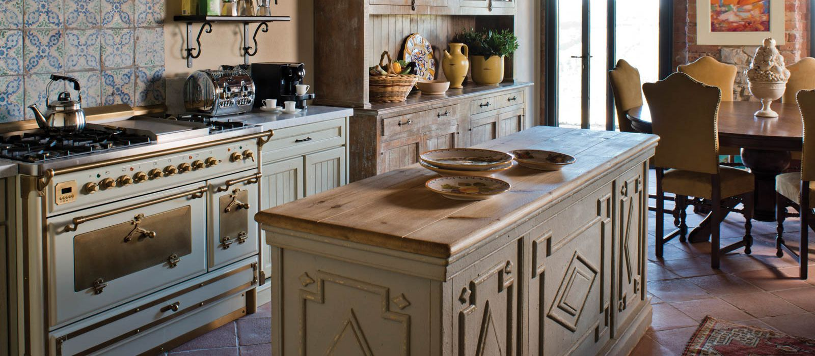 Villa Sant Antonio Kitchen