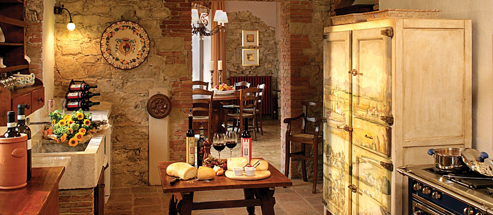 Casole San Regolo Kitchen