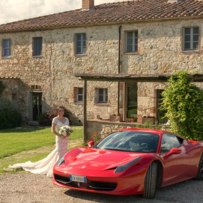 Bride and Ferrari