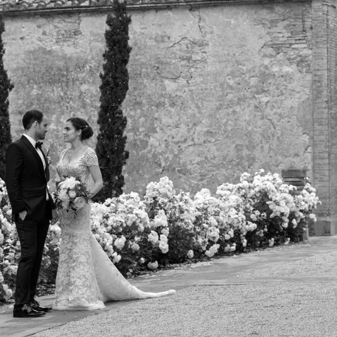 Wedding at Castello di Casole