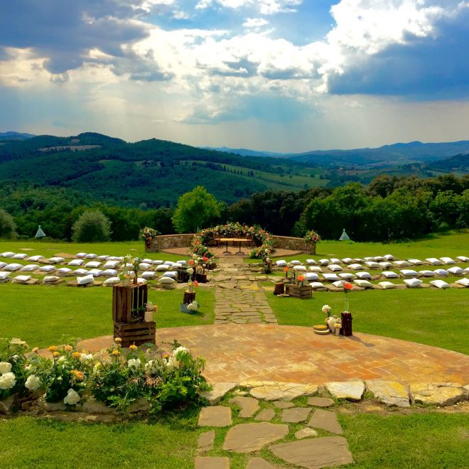 Wedding at the Amphitheater