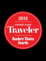 Conde Nast Traveler Reader's Choice Award 2015