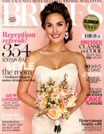 Brides Magazine September/October 2014 Cover