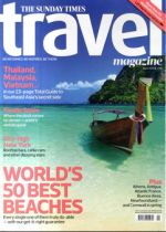 The Sunday Times Travel Magazine Cover