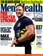 Men's Health November 2015 Magazine Cover