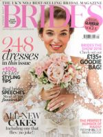 Brides Magazine September 2016 Cover