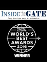 Inside The Gate and Travel + Leisure World's Best Awards Cover