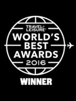 Travel + Leisure World's Best Award 2016