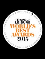Travel + Leisure World's Best Award 2015